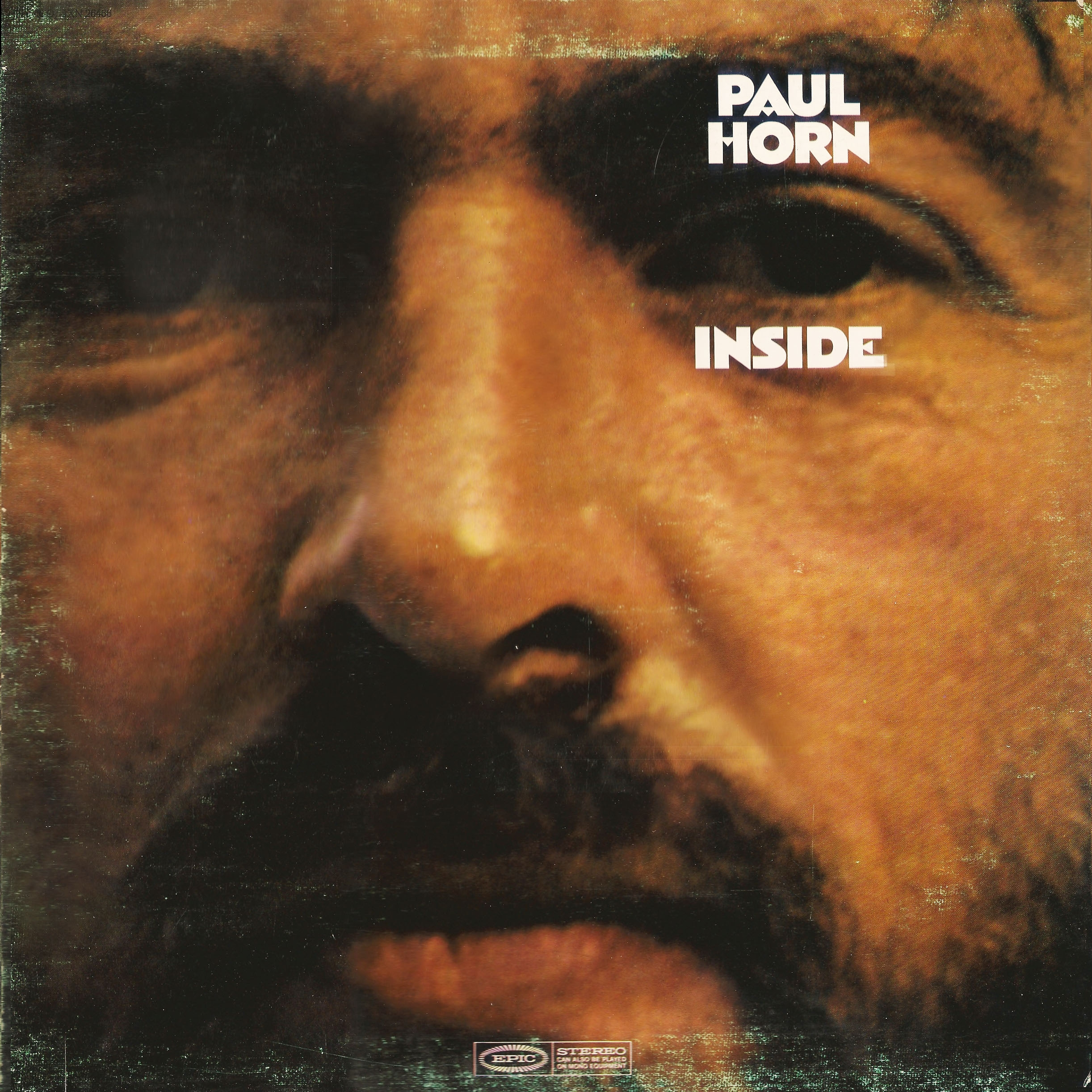 Paul Horn - Inside - Original Cover Image